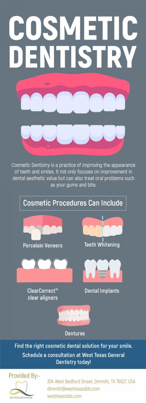 West Texas General Dentistry - Cosmetic Dentistry in Dimmitt, TX