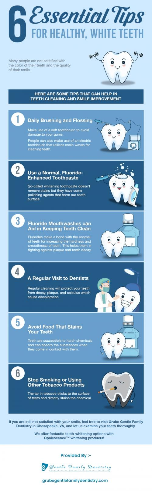 Achieve A Bright Smile with Teeth Whitening Procedure in Chesapeake, VA from Grube Gentle Family Dentistry