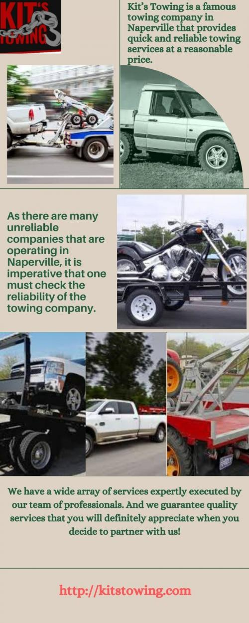 Choose the Best Towing Company in Naperville