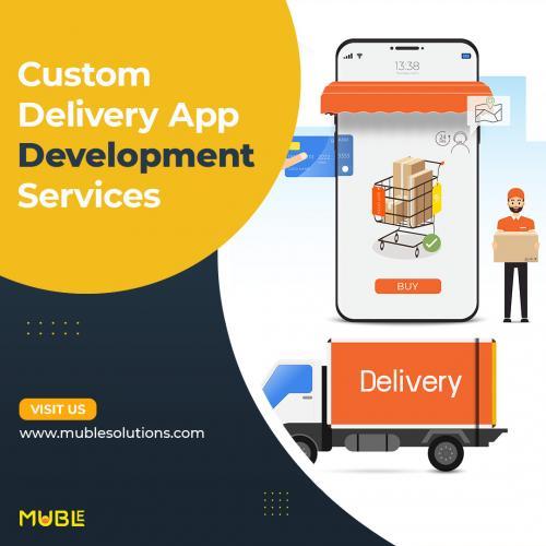 Custom Delivery App Development Services