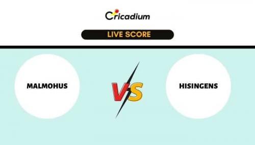 ECS Sweden, Malmo, 2021 Live Cricket Score: Match 34 MAM vs HSG Live Cricket Score Ball by Ball Commentary, Scorecard & Results