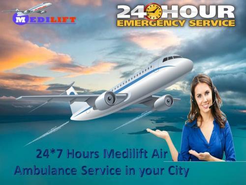 Medilift Air Ambulance Service in Kolkata