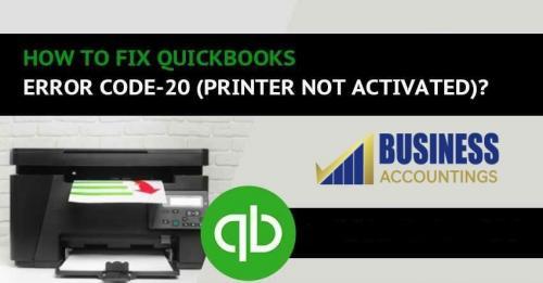 How to fix QuickBooks Error Code 20