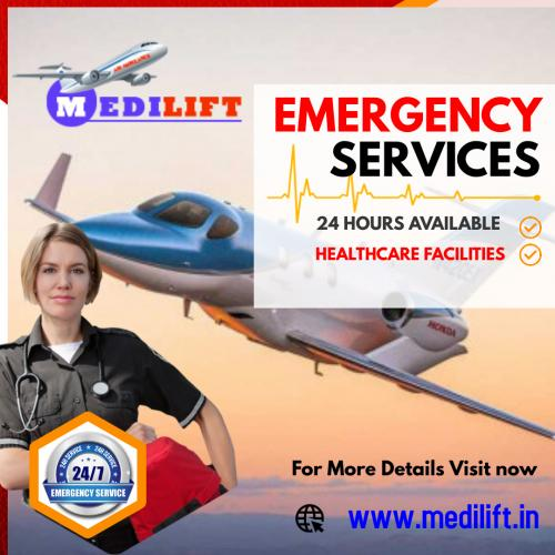 Medilift Air Ambulance Service – Avail at a Very Low Fare
