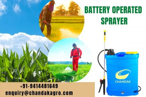 Chandak Agro Battery Operated Agricultural Sprayer