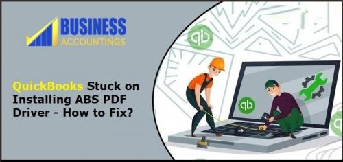 QuickBooks Stuck on Installing ABS PDF Driver