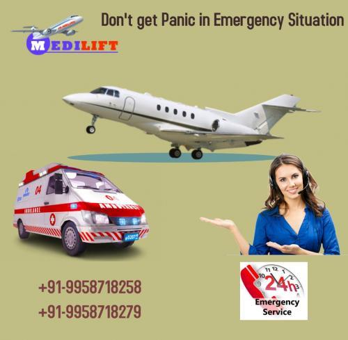 Supreme and ICU Support Air Ambulance in Mumbai – Medilift