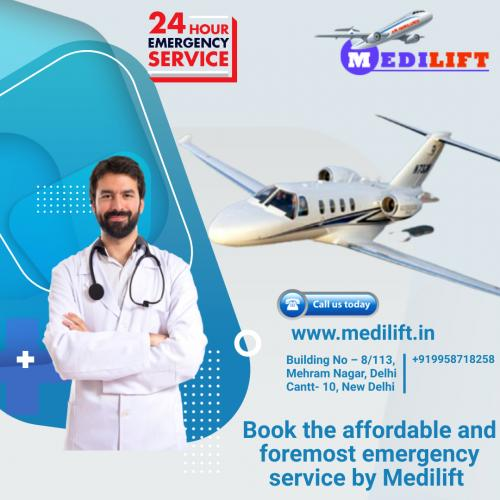 Medilift Low Fare Air Ambulance – Available 24 Hours