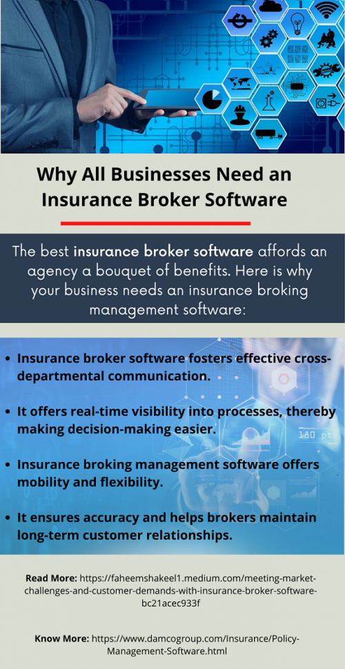 Why All Businesses Need an Insurance Broker Software