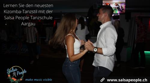 Lernen Sie den neuesten Kizomba-Tanzstil mit der Salsa People Tanzschule Aargau