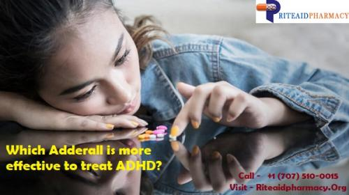 Which Adderall is more effective to treat ADHD?