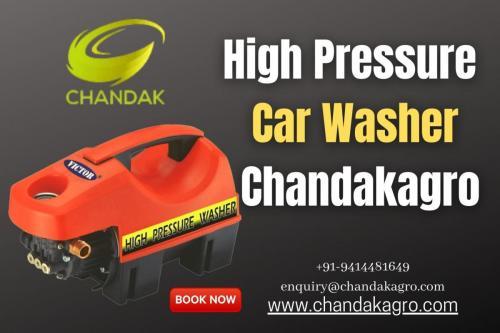 High-Pressure Car Washer From Chandakagro