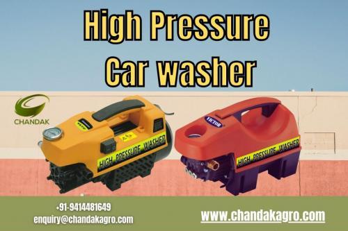 Buy High Pressure Car Washer From Chandakagro