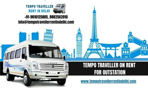 Book Tempo Traveller on Rent for Outstation