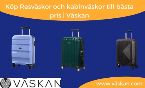 Köp Resväskor och kabinväskor till bästa pris | Väskan