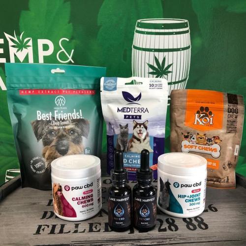 CBD Oil for Pets - Hemp and Barrel