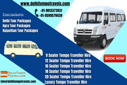 Deluxe Tempo Traveller Rental In Delhi