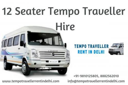 12 Seater Tempo Traveller Hire Delhi NCR