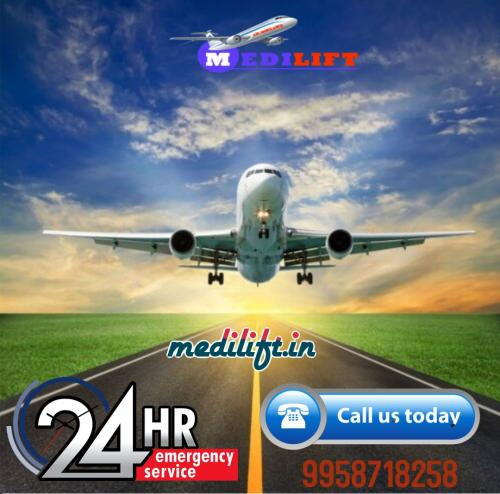 A Relocation Resort Rendered by Medilift Air Ambulance in Delhi