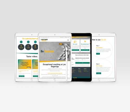 E-learning Website Design