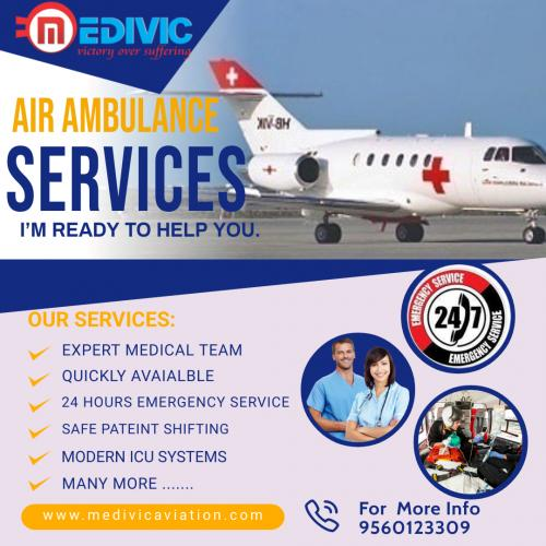 Medivic Air Ambulance in Kolkata & Mumbai- Transporting Patients with Trust and Fidelity