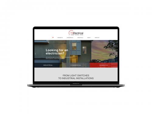 Electrical Company Website Design