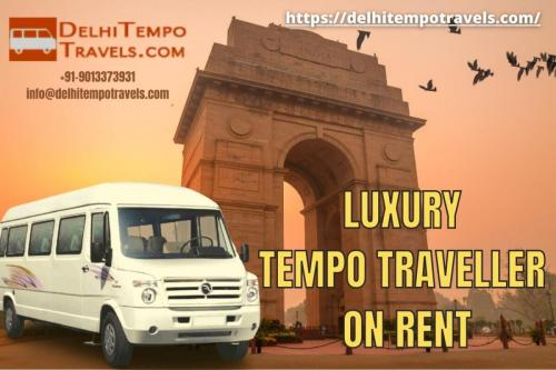 Luxury Tempo Traveller Rental Service In Delhi