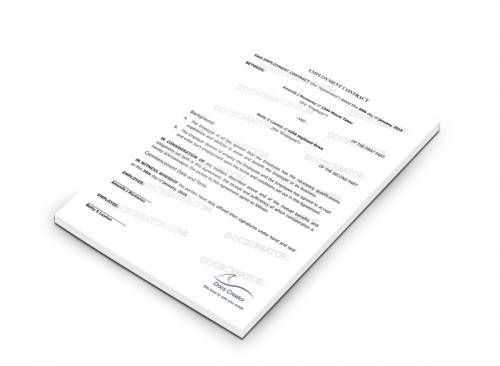 Docscreator – Real Estate Purchase Agreement Template - Docscreator.com