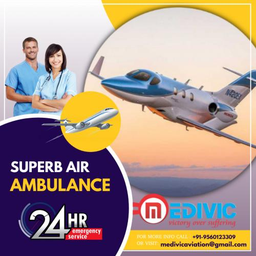 Trustworthy Air Evacuation Provided by Medivic Aviation in Patna & Delhi