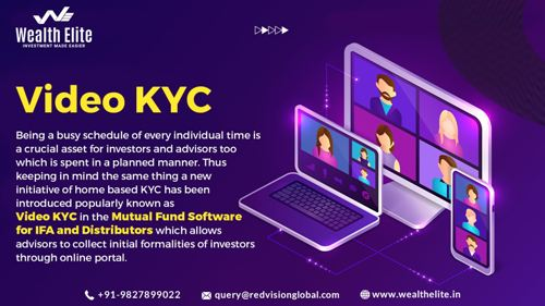 Mutual fund software for Distributors assist in completing a client's KYC