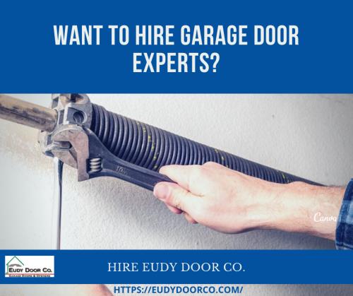 Call Garage Spring Broken Repairing and Replacement Experts