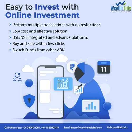 The Mutual fund software allocates investors funds
