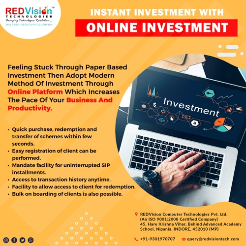 Quick investment helps in Mutual Fund Software