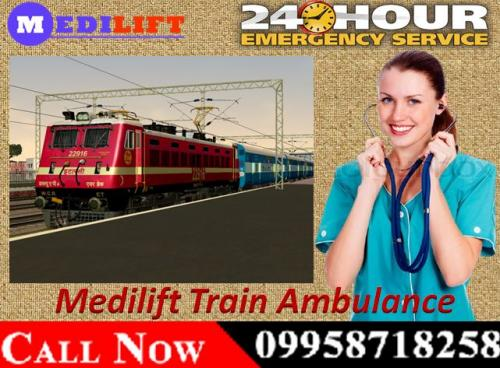 The Approach of Medilift Train Ambulance Patient Transfer Services in Patna and Delhi 03