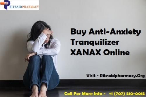 Buy Anti-Anxiety Tranquilizer - XANAX Online