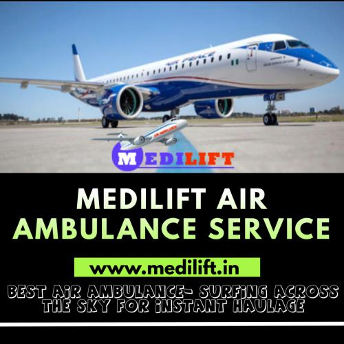 Medilift Air Ambulance in Patna - Serving with Efficacy