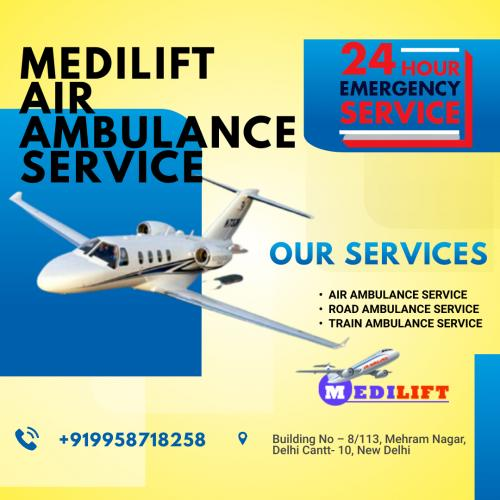 Dedicated Airlifting of Patients Performed by Medilift Air Ambulance with Comprehensive Crafts