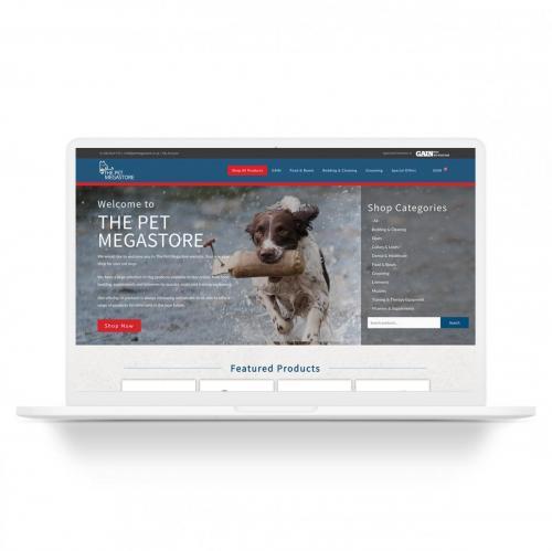 Pet Food E-commerce Website Design
