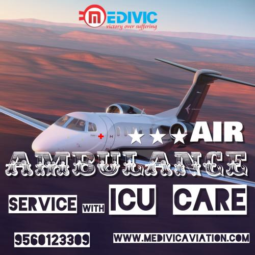 Stretching a Helping Hand for Prompt Transferring of Patients by Medivic Air Ambulance in Mumbai & Kolkata