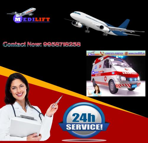 Never Lose Hope of an Effective Repatriation with Medilift Air Ambulance Patna