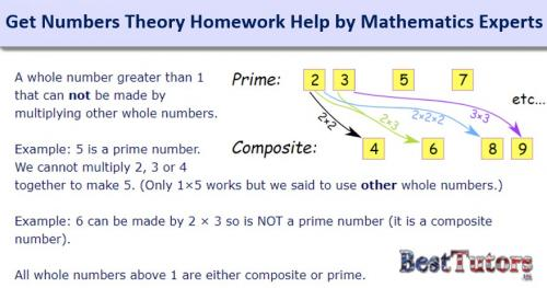 Get Numbers Theory Homework Help by Mathematics Experts