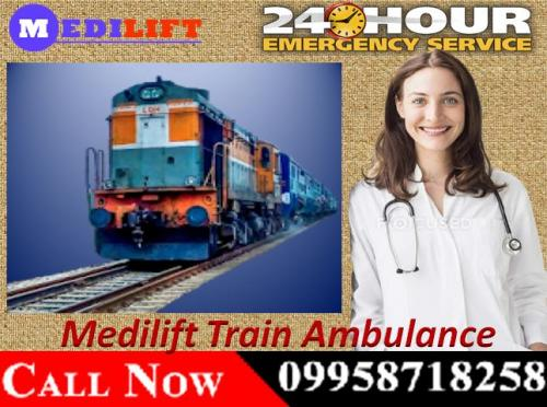 The Approach of Medilift Train Ambulance Patient Transfer Services in Patna and Delhi 02