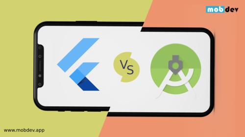 Flutter VS Android Studio