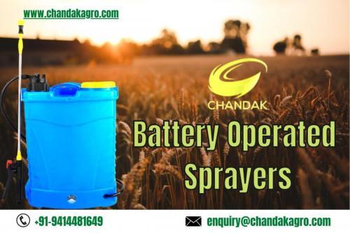 Battery Operated Sprayers- Chandakagro