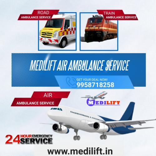 In Health Disparity Medilift Air Ambulance Arrives for Rescue