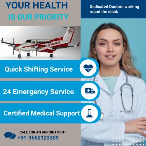 Medivic Air Ambulance in Patna & Delhi- With You Wherever You Are