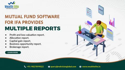 Does Mutual Fund Software for IFA reduce chances of loss?