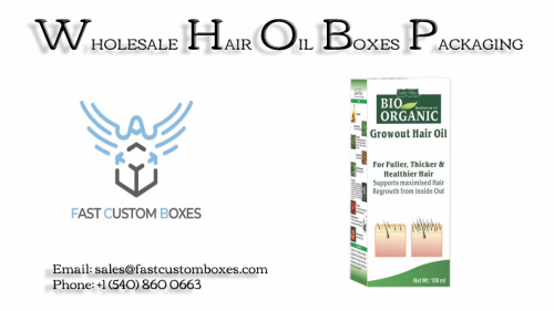 Hair Oil Boxes