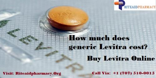 generic levitra cost