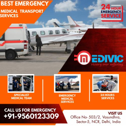 Medivic Air Ambulance in Delhi & Patna Is Saving Lives with the Fastest & Safest Relocation